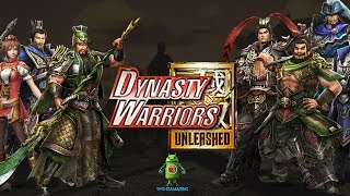 DYNASTY WARRIORS UNLEASHED Gameplay (iOS/Android) Video Trailer