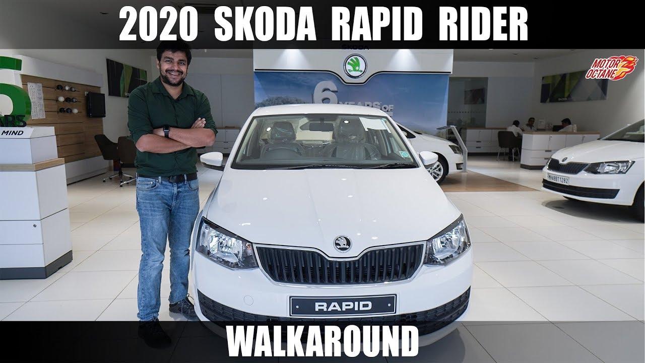 Motoroctane Youtube Video - 2020 Skoda Rapid Rider Walkaround - PUBLIC DEMAND VIDEO
