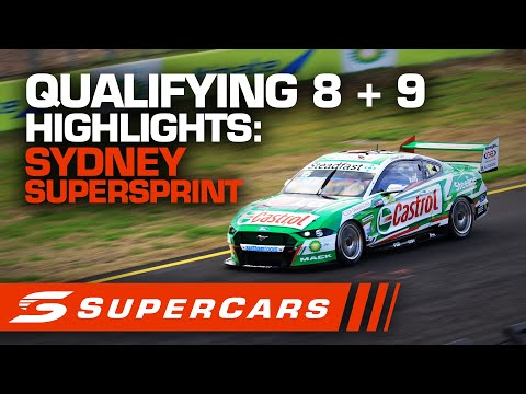 2020年 SUPERCARS シドニースーパースプリント #race8+9 予選ハイライト動画