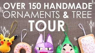 I Made 150+ Felt Ornaments - LETS LOOK AT ALL OF THEM