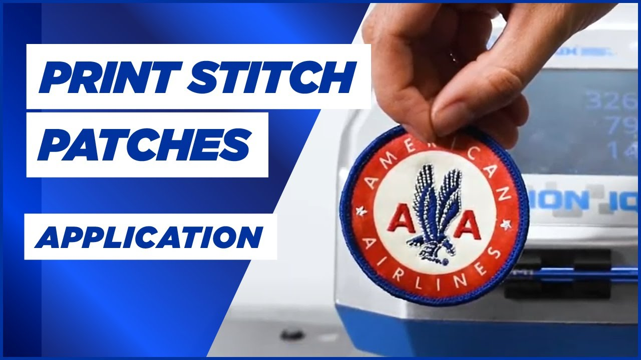 Application: Print Stitch Patches