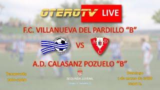 R.F.F.M. - Jornada 22 - Segunda Juvenil (Grupo 3): F.C. Villanueva del Pardillo 4-0 A.D. Calasanz Pozuelo