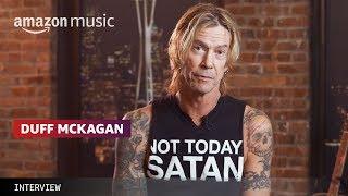 Duff McKagan Talks Seattle Music | Amazon Music