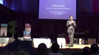 Live to Give, and Connect Abundantly by Mina Salib