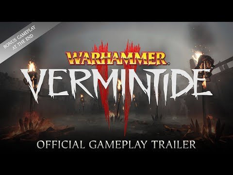 Warhammer: Vermintide 2 – Reveal Gameplay Trailer thumbnail