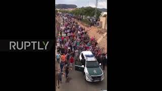 Spain: Police chased out of Catalan town by angry crowd