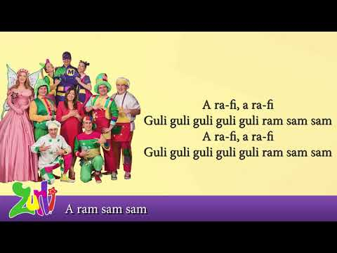 Gasca Zurli – A ram Sam Sam (cu versuri – lyrics video) Video
