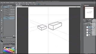 Clip Studio Paint (Manga Studio): Why I love the Perspective Tool