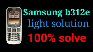 Samsung Sm B310e Display Problem Lcd Ways Solution Kenh Video Giải