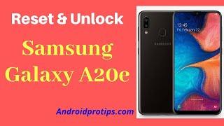 How to Reset & Unlock Samsung Galaxy A20e