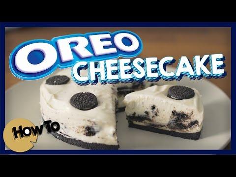OREO芝士蛋糕 (無魚膠/吉利丁) [by 點Cook Guide] Oreo Cheesecake