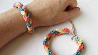 Crochet I-cord Bracelet - How To