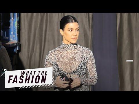 Kourtney Kardashian Is a Hot Mesh?! | What the Fashion | S2, Ep. 13 | E! News