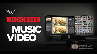 We Create Your Professional Widescreen Music Video