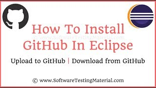 How To Install GitHub In Eclipse   Upload & Download Scripts - GitHub