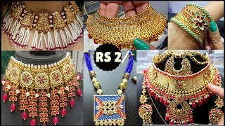 Imitation Jewellery Start Rs. 2/- |Bridal Jewellery  & Artificial Jewellery cheaper than Sadar Bazar
