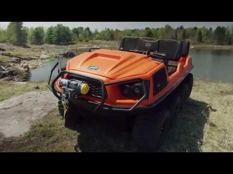 2019 Argo AUR8 8X8 in Mio, Michigan - Video 2