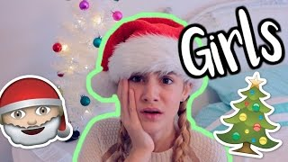 How GIRLS REALLY  Get Ready for CHRISTMAS!
