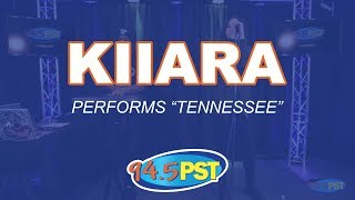 """Kiiara performs """"Tennessee"""" in the PST Live Lounge"""