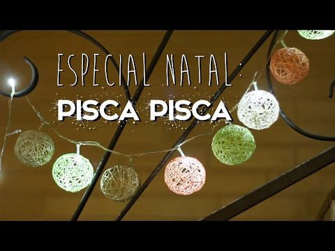 Pisca piscas decorados