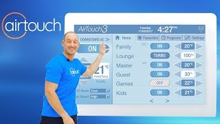 Showing you around the AirTouch Interface