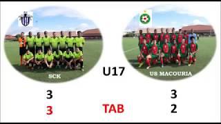 Finale Championnat U17-SC Kourou/US Macouria