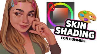 Skin Shading Tutorial (Digital Painting)
