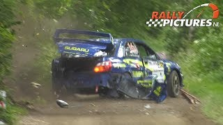 Vechtdal Rally 2019 | Crashes Maximum Attack & Mistakes