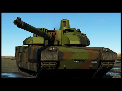 RIGHT IN THE BREAD BASKETLeclerc &amp Gazelle (War Thunder Gameplay)