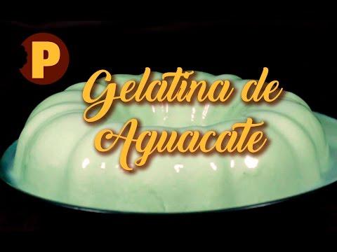 Vídeo Gelatina de Aguacate