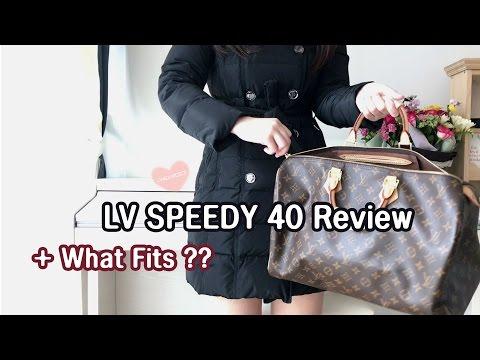 Louis Vuitton, Sac speedy 40 en toile monogram