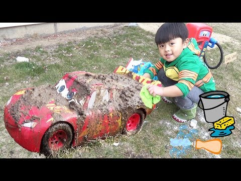 Disney Cars Lightning McQueen Car Wash Mp3