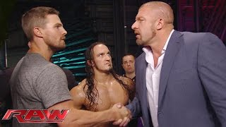 WWE Monday Night Raw (10.08.15) l Stephen gets a match at SummerSlam