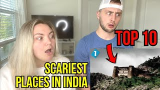 10 Most HAUNTED Places in INDIA | REACTION