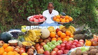 Fruit Salad Recipe | Indian Fruit Ninja | Amazing Fruit Salad | Healthy Fruits Salad by Our Grandpa