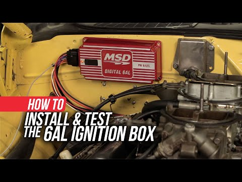 How to Correctly Install and Troubleshoot your MSD Digital 6AL Ignition Box