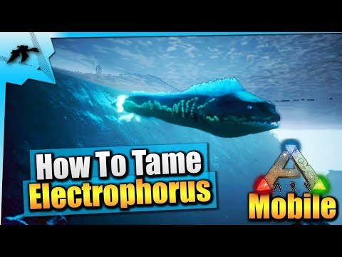 Ark Mobile| How To Tame A Max Level Plesiosaur Solo EASY |iOS/Android Total  Beginner's Guide - Kamz 25