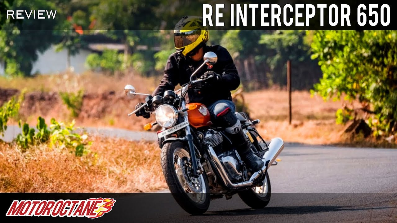 Motoroctane Youtube Video - Royal Enfield Interceptor 650 Review - My new favourite | Hindi | MotorOctane