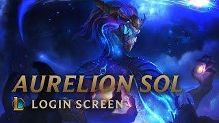 Aurelion Sol, the Star Forger   Login Screen - League of Legends