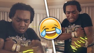 TakeOff Funniest & High/Sleepy Moments (Funny Compilation) *90% WILL LAUGH* - Video Youtube