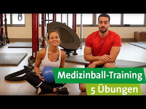 Medizinball Training - Unsere Top 5 Übungen