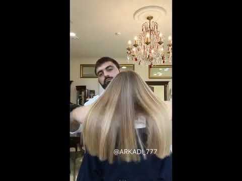 Стрижка на прямые длинные волосы
