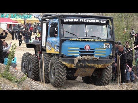 8x8 Trucks in truck trial   Cernuc u Velvar, Czech Republic 2019   Tatra truck show
