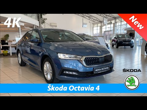 Škoda Octavia 4 Ambition 2020 - Quick look in 4K | Interior - Exterior