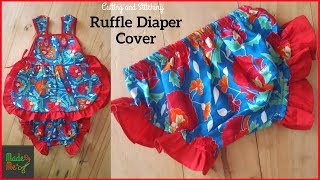 Ruffle Diaper Cover Cutting And Stitching | DIY Diaper Cover