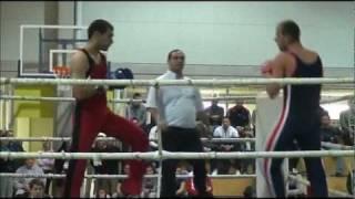 preview picture of video 'DAMIR PLANTIĆ vs MARKO GOSPOČIĆ / SAVATE COMBAT, OPZ 2011.'