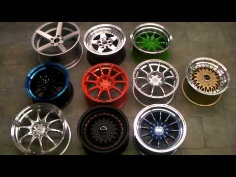 DUBSandTIRES.com Traklite Wheels Racing Tuner Hellaflush Civic Integra Corolla 4 & 5 Lug Wheels