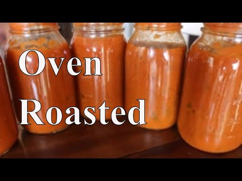 Oven Roasted Marinara & Canning Chat With Linda's Pantry