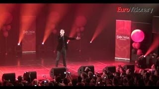 Donny Montell - Love Is Blind - 3D - Eurovision In Concert - Lithuania - 2012