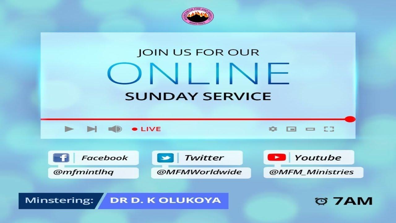 MFM Sunday Service 11th April 2021 LIVE with Pastor D. K. Olukoya
